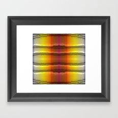 Quilt Pattern  Framed Art Print