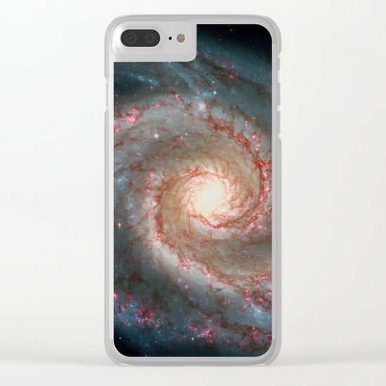 Space 06 Clear iPhone Case