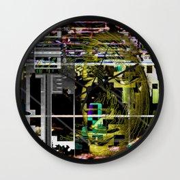 Ultra-Mega-Super Glitch 09-14-16 Wall Clock
