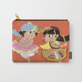 Indian Dance Carry-All Pouch