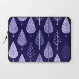 Watercolor Forest Pattern #8 Laptop Sleeve