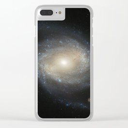 Barred Spiral Galaxy NGC 4639 Clear iPhone Case