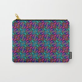 Wildly Tropical Floral Carry-All Pouch