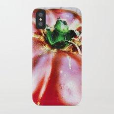 Tomato Heirloom Slim Case iPhone X