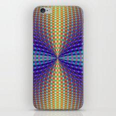 Circular Pinch in Color iPhone & iPod Skin