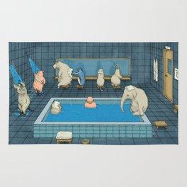 The Bathers Rug