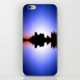 Vibrating Sunset iPhone Skin