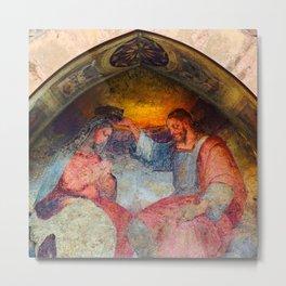 Santo Stefano Fresco Metal Print