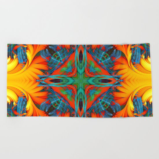 Mandala #8 Beach Towel