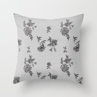 wallpaper Throw Pillows featuring WallpAper by  Wiipo