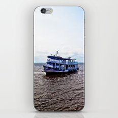 Amazon river boat iPhone & iPod Skin
