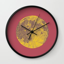 Chinese Mid-Autumn Festival Moon Cake Print Wall Clock