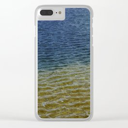 Water Rainbow Clear iPhone Case