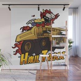 Devils Haul Truck Wall Mural