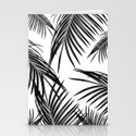 Black Palm Leaves Dream #1 #tropical #decor #art #society6 by anitabellajantz