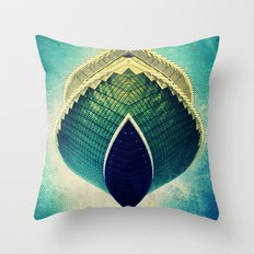 Znork Throw Pillow