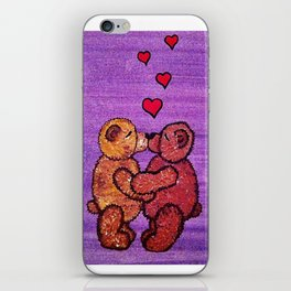 Bears in love iPhone Skin