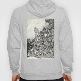 My City Driven by Fire Into the Sea Hoody