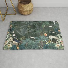 Tropical Jungle Rug