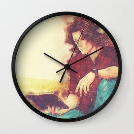Hardcover (Splatter) Wall Clock