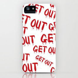 Get Out Horror House iPhone Case