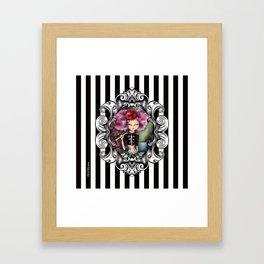 Cherry on top Framed Art Print
