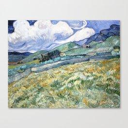 Landscape from Saint-Remy by Vincent van Gogh Canvas Print