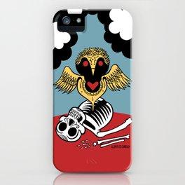 Búho de la Muerte iPhone Case