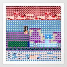 > NES v3 Art Print