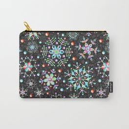 Snowflake Filigree Carry-All Pouch