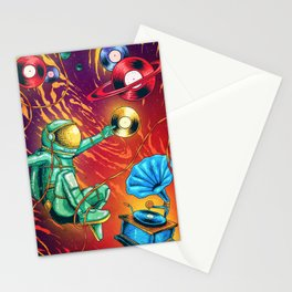 01 Galactic Sound Stationery Cards
