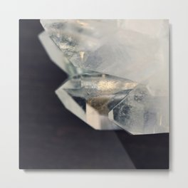 Crystal and Clear Metal Print