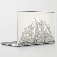 Laptop Skins featuring The Mountains and the Woods by David Penela