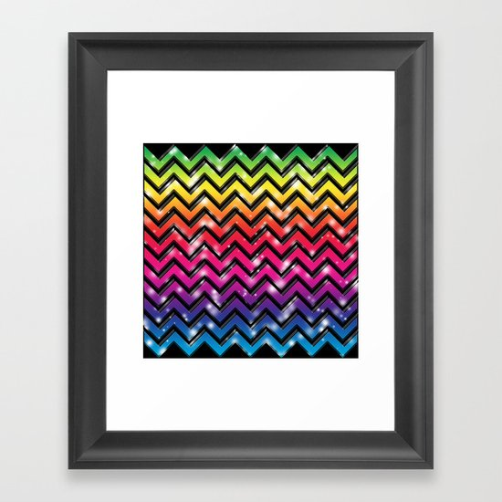 Rock Down To Electric Avenue. Framed Art Print