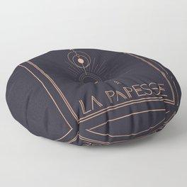 La Papesse or The High Priestess Tarot Floor Pillow