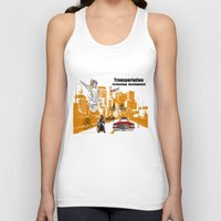 technology Tank Tops featuring  Transportation  technology by Design4u Studio