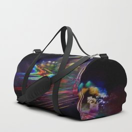 Walking the Roads Alone Duffle Bag