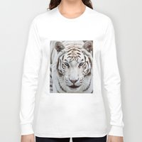 tiger Long Sleeve T-shirts featuring TIGER TIGER by Catspaws