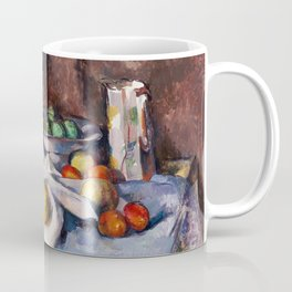 1898 - Paul Cezanne - Still Life with Apples Coffee Mug