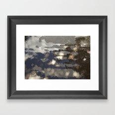 Water/Sky Framed Art Print