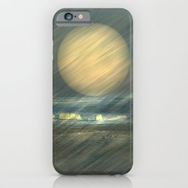 Sea and wind iPhone Case