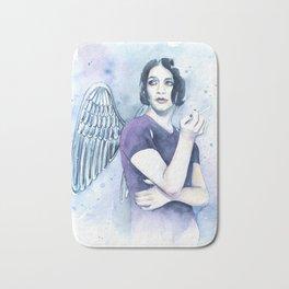 Smoking Angel Bath Mat