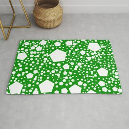 """Kalinka. """"Islam green"""" color Rug"""