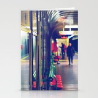 subway Stationery Cards featuring subway. by zenitt