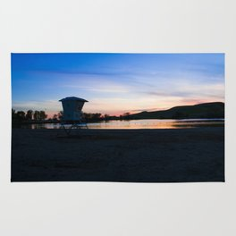 Tower and Sunset Rug
