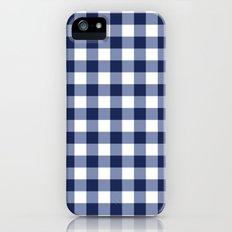 Gingham iPhone (5, 5s) Slim Case