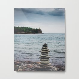 All Stacked Metal Print