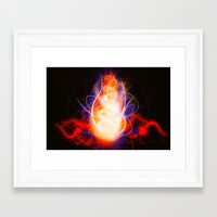 spawn Framed Art Prints featuring Spawn by D'RedVette Designs