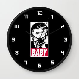 Trump - Baby Wall Clock