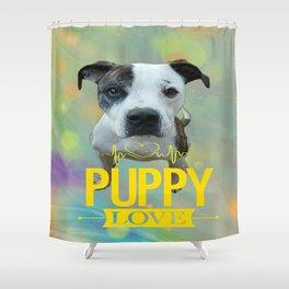 Jess Puppy Love Shower Curtain